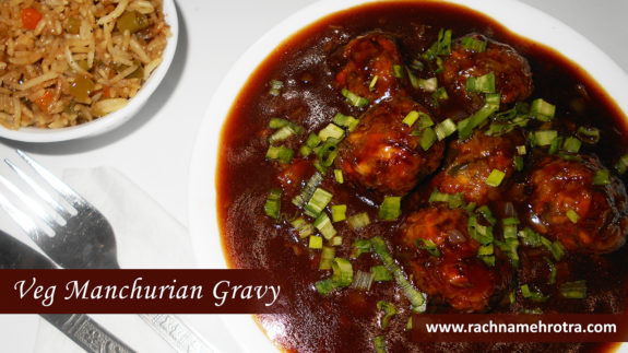 Veg manchurian recipe veg manchurian gravy easy manchurian recipe forumfinder Image collections