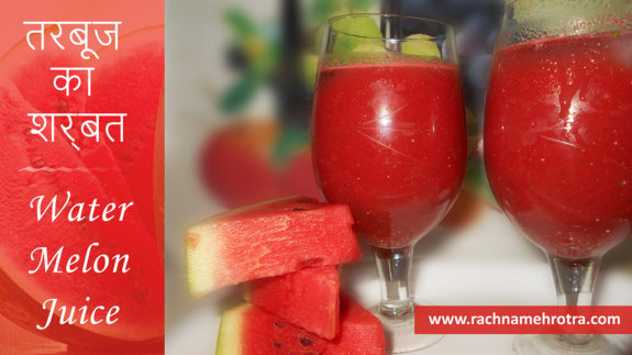 How to make watermelon juice at home